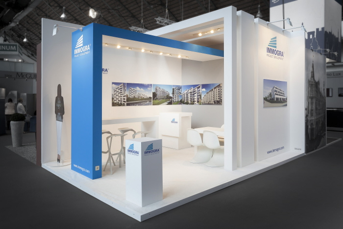 Exhibition Booth Supplier : Immogra by rebooth exhibition manufacturers at coroflot