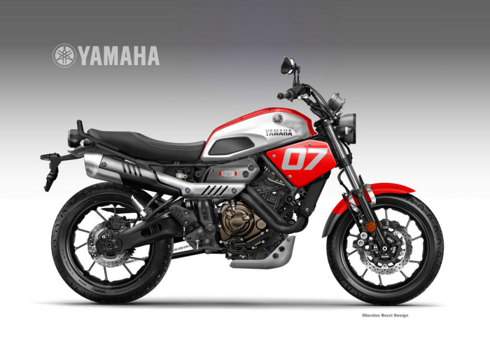 yamaha xsr 700 coolest bros by oberdan bezzi at. Black Bedroom Furniture Sets. Home Design Ideas