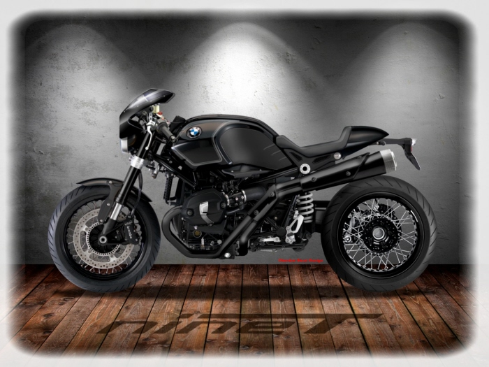 bmw r nine t custom by oberdan bezzi at. Black Bedroom Furniture Sets. Home Design Ideas