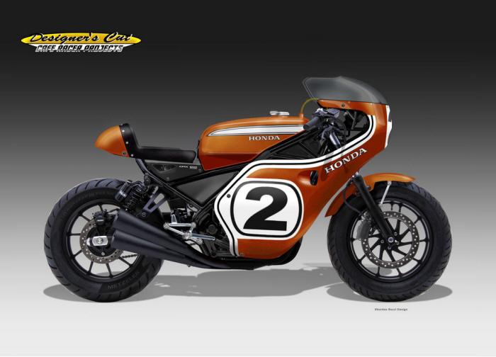 honda cmx 500 racer legend by oberdan bezzi at. Black Bedroom Furniture Sets. Home Design Ideas