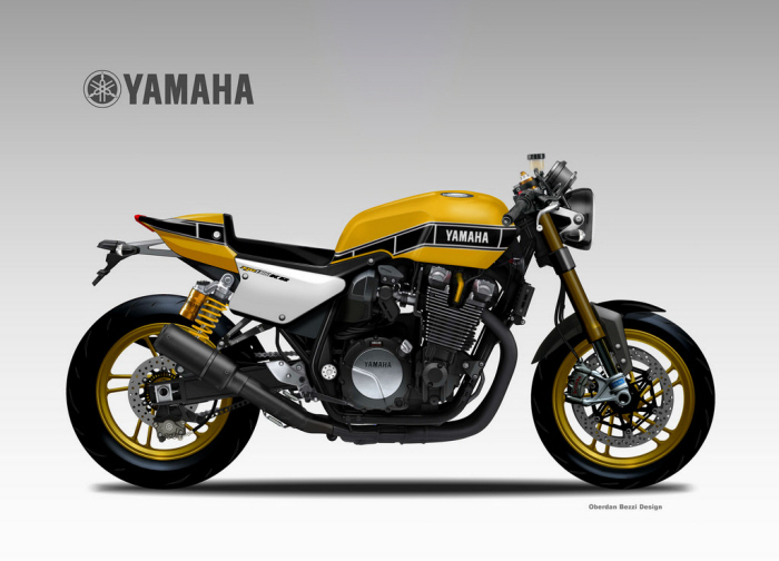 yamaha xjr 1300 yard built by oberdan bezzi at. Black Bedroom Furniture Sets. Home Design Ideas