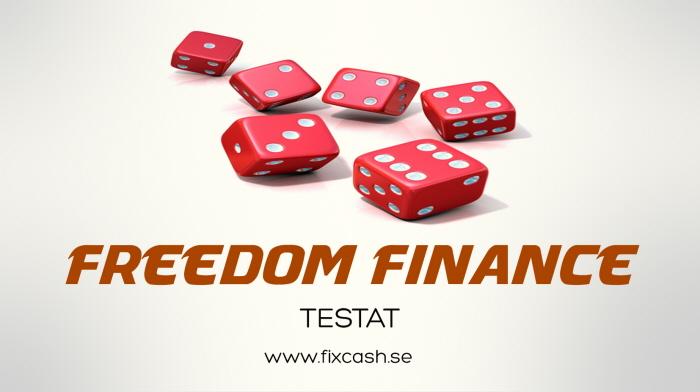 Allt du behöver veta om Freedom Finance