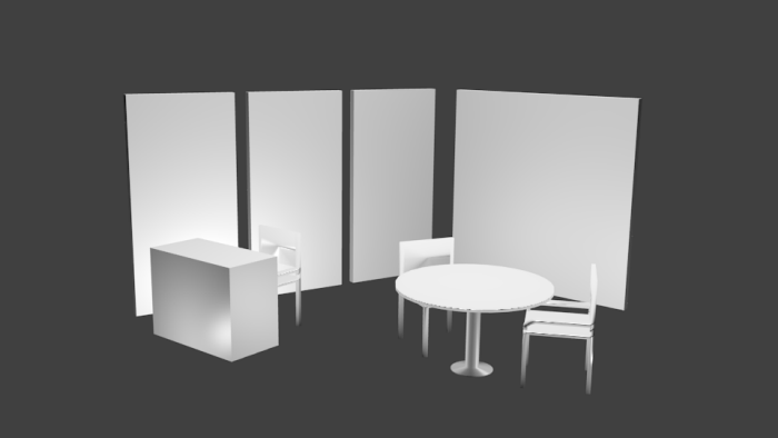 Basic Exhibition Booth : D exhibition booth layout by hafiz malik at coroflot