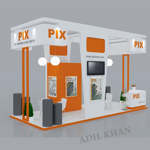 3d Exhibition Stall Design Job : D stall design and interior by adil khan at