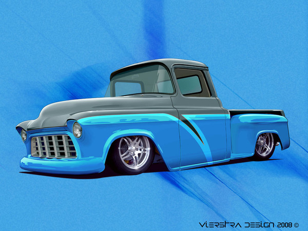 Chevy Truck Two Tone Paint http://www.coroflot.com/dvdesign1/automotive-portfolio