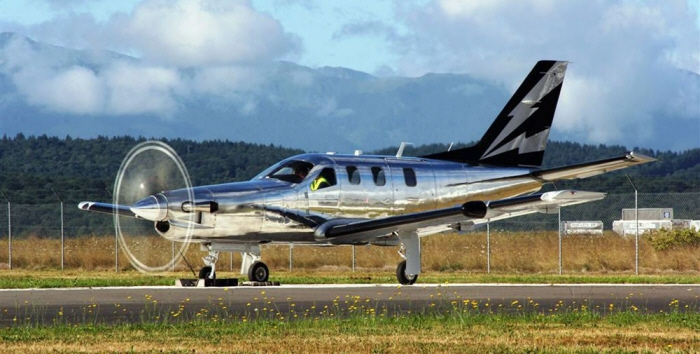 francis ford coppolas socata tbm850 by brian haeger at