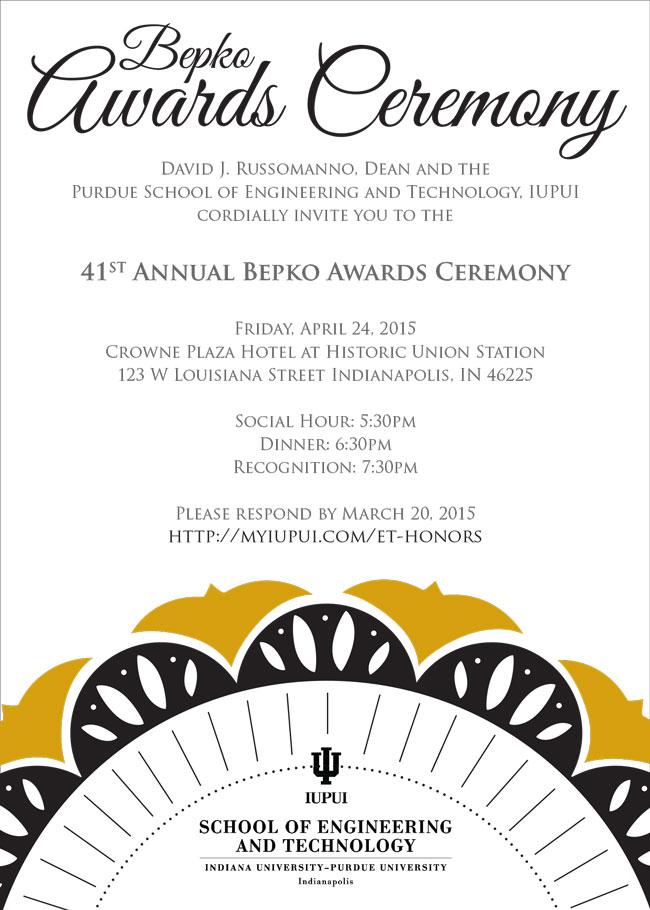 bepko awards ceremony
