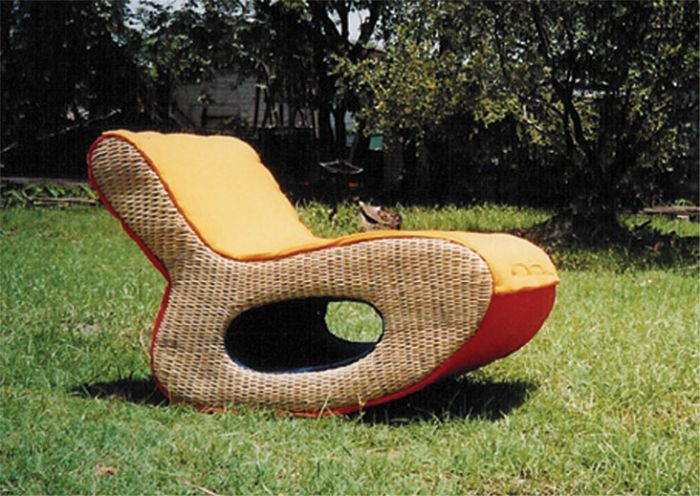 eco-chair Paige Russell :  rocking georgetown prototype eco-friendly