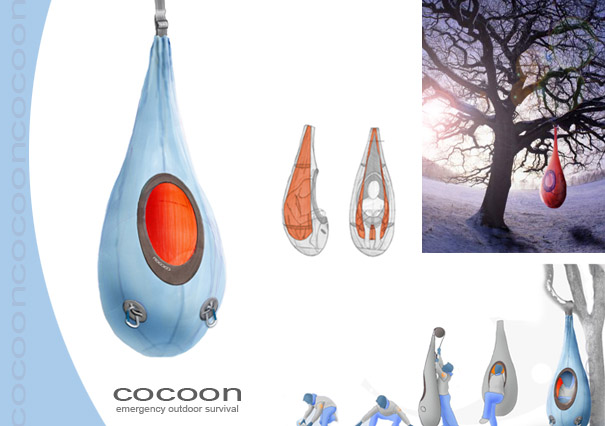Cocoon Emergency Survival Treehouse Concept - Treehouse by ...
