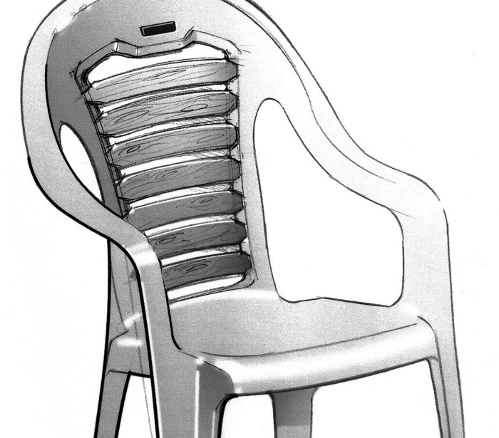 Injection Molded Chairs By Jeff Plantz At Coroflot Com