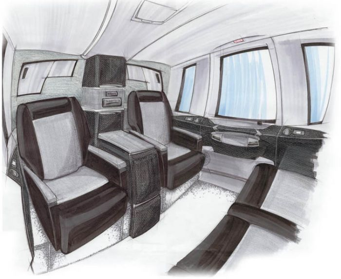 Portfolio by james murphy at for Aircraft interior designs
