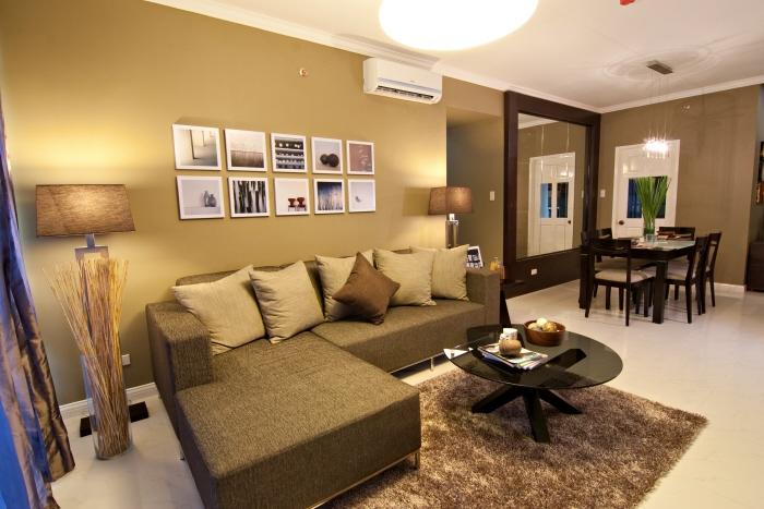 Citylights garden condominium by adrian del monte at for 3 bedroom condo interior designs