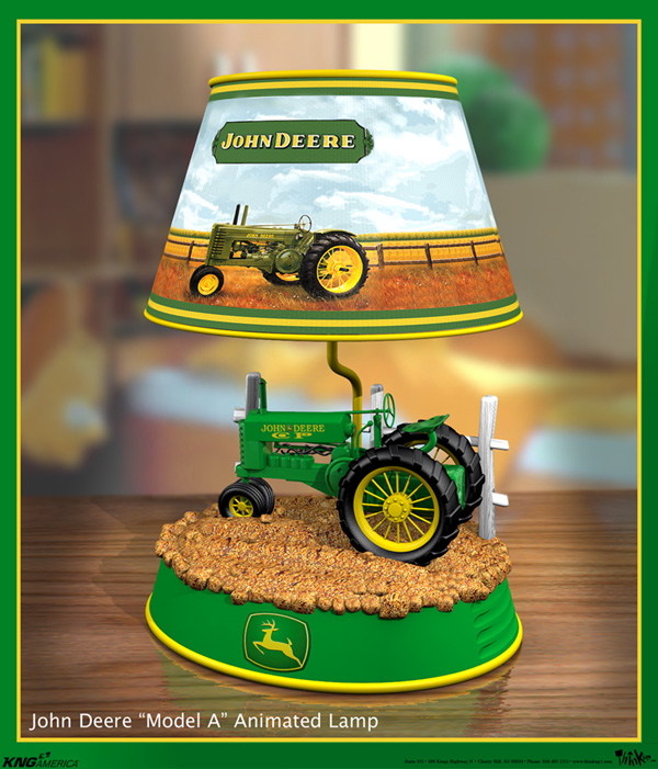 Glass Table Lamp John Deere : Models by rob breisch at coroflot