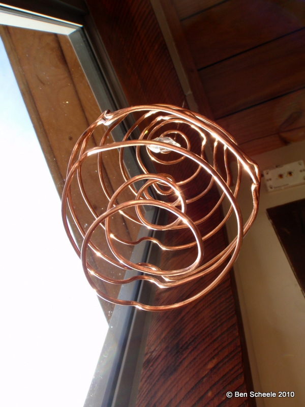 Wire Sculptures by Ben Scheele at Coroflot.com