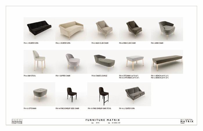 Amazing Furniture Matrix   Gucci Furniture Matrix