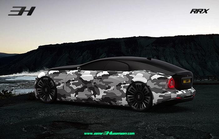 Jaguar e x50 rendering фото