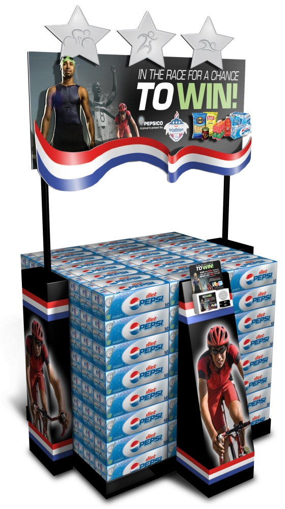 Pepsi Race Case Stacker by