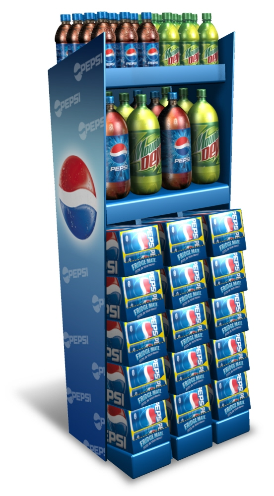 Pepsi Display Solutions by