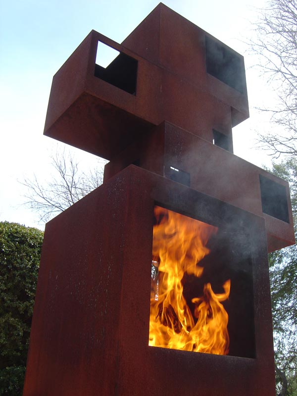 For Chimney Cladding Aluminium : Rusty metal finish fireplace cladding images frompo