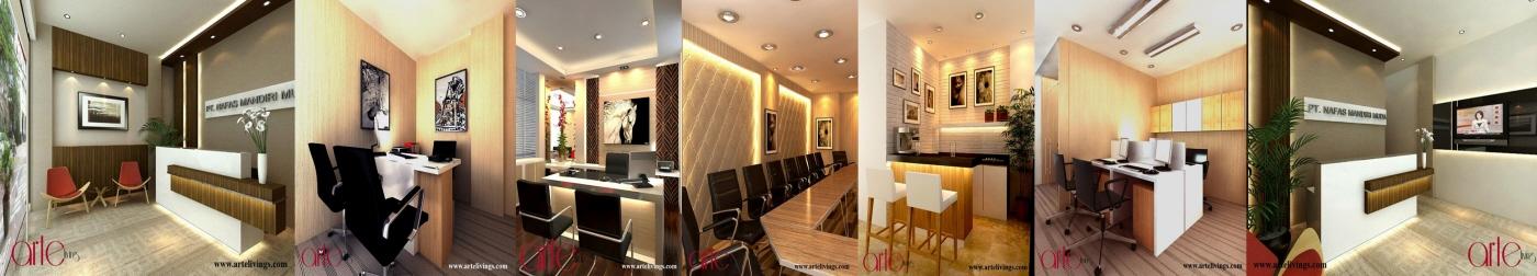 ARTE Living Interior Design Build In South Jakarta Indonesia