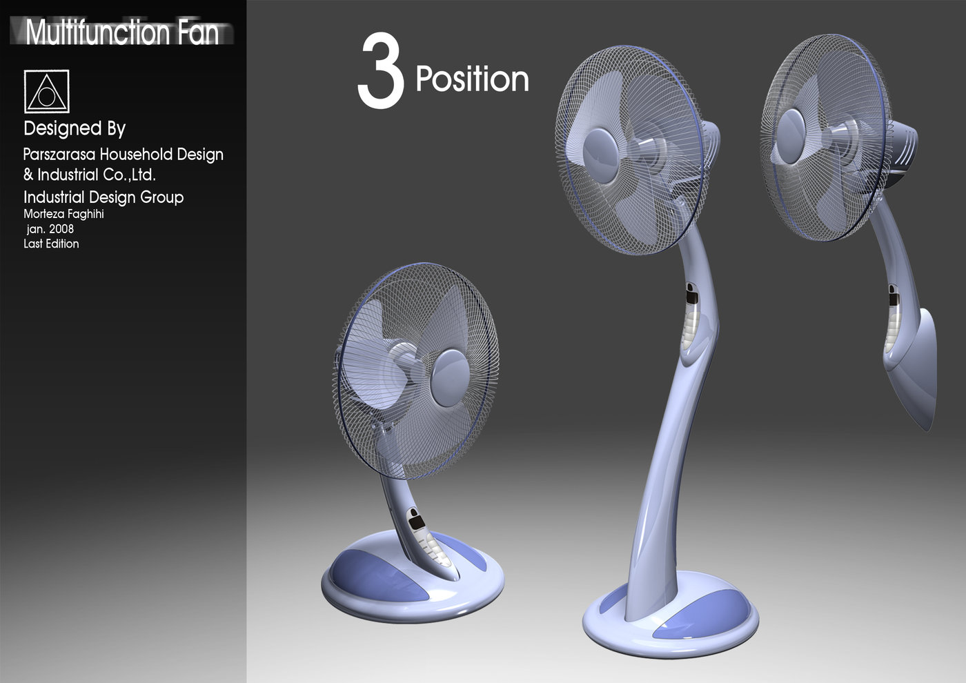 3 In 1 Fan Produced Parszarasa Project By Morteza Faghihi