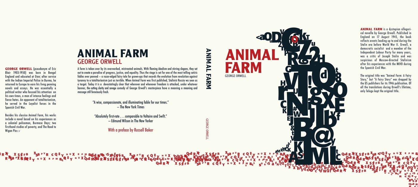 animal farm by george orwell is Orwell uses a cyclical structure in animal farm, which helps advance the idea of totalitarianism's predictability the novel begins with jones as autocratic tyrant and ends with napoleon not only in jones's position, but in his clothes as well.