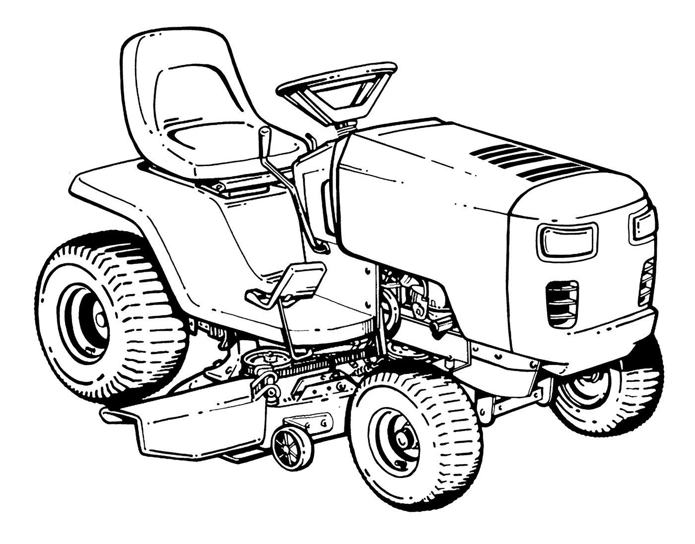Line Drawing Tractor : Line art by cyndi bellerose at coroflot