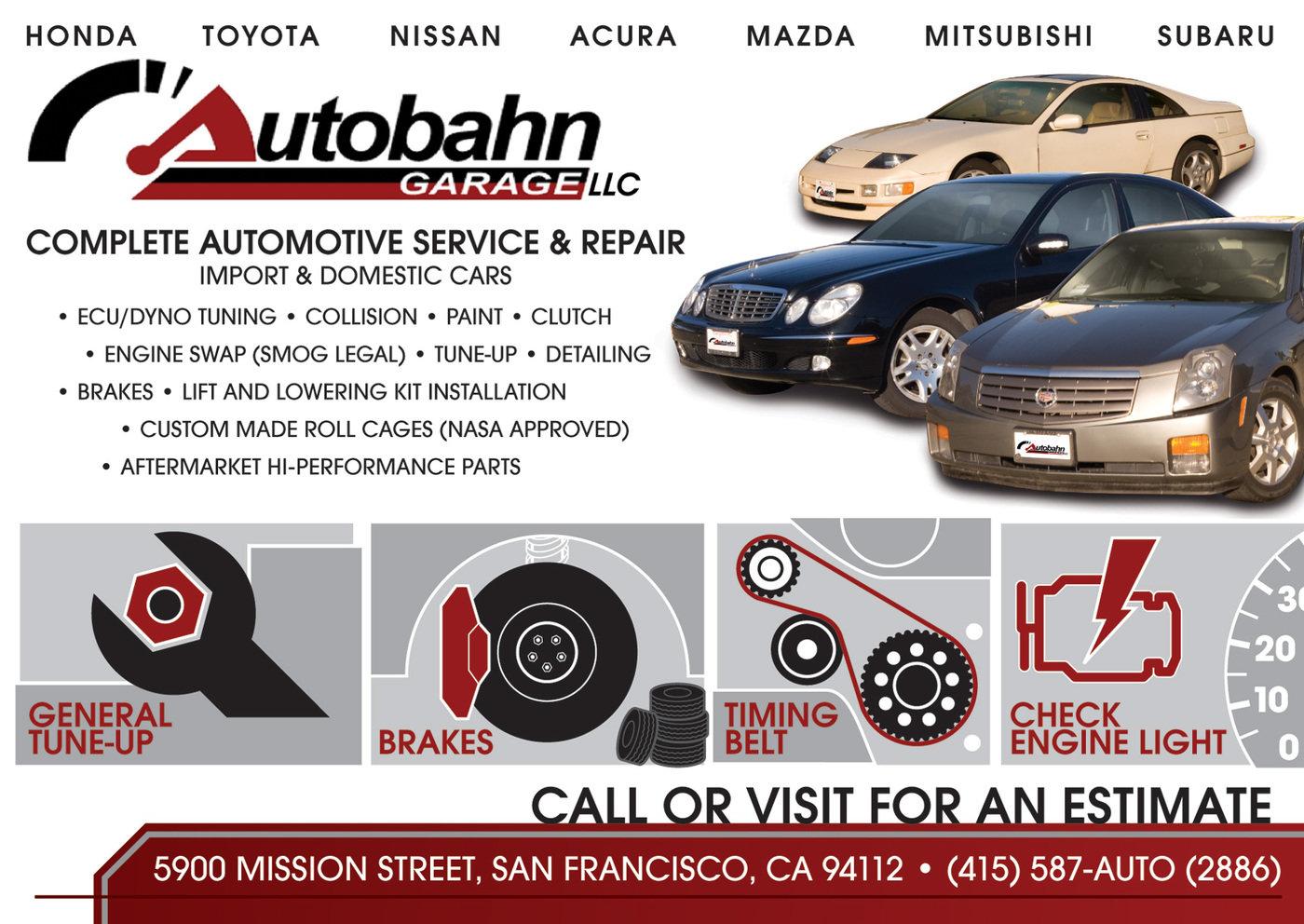 auto repair shop flyers