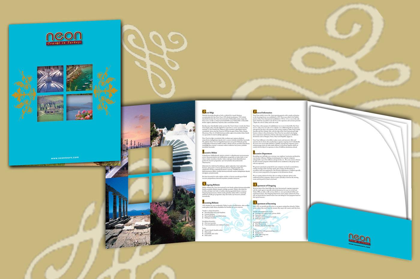 3 panel brochure
