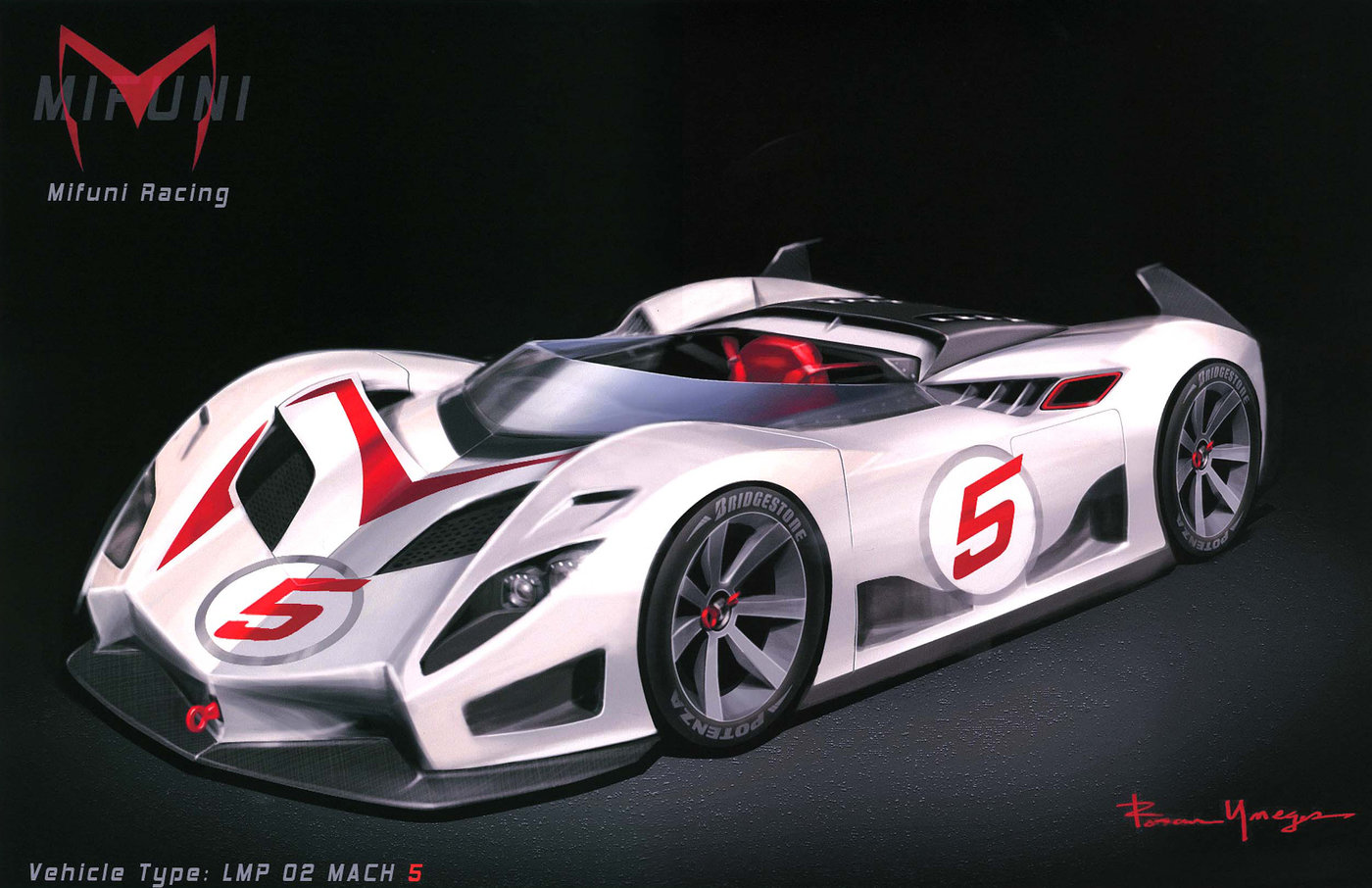 the incredible mach 5 by roman yneges at coroflotcom