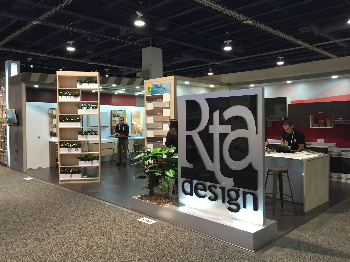 Exhibition stand design by carlos daniel negrete at for Kitchen and bath show las vegas