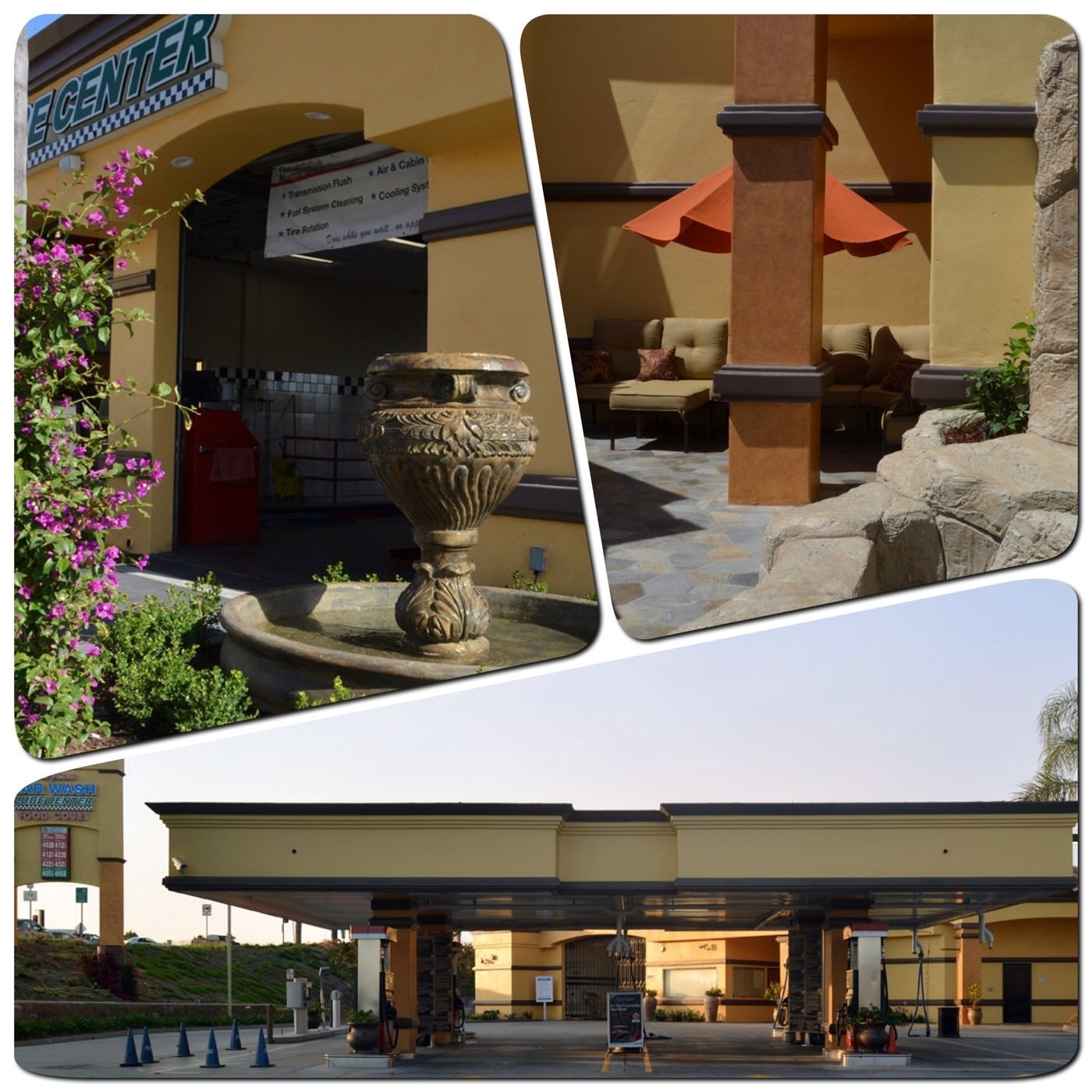 Camarillo Gas Station Car Wash Restrooms By Erika Winters  # Muebles Camarillo