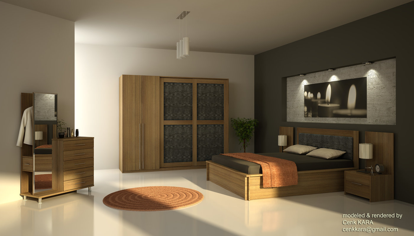 Dila   Bedroom Furniture Rendering   Marcabella Dila   Bedroom Furniture  Rendering With Teak Wood You Can View High Resolution 4000x2286