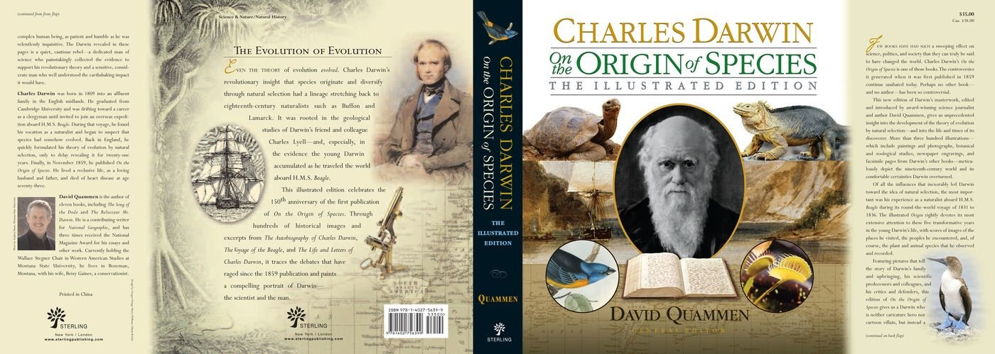 an analysis of the four major arguments about species in charles darwins on the origin of species Darwin and natural selection m he did so in a 490 page book entitled on the origin of species it was very popular and controversial from the outset the first.