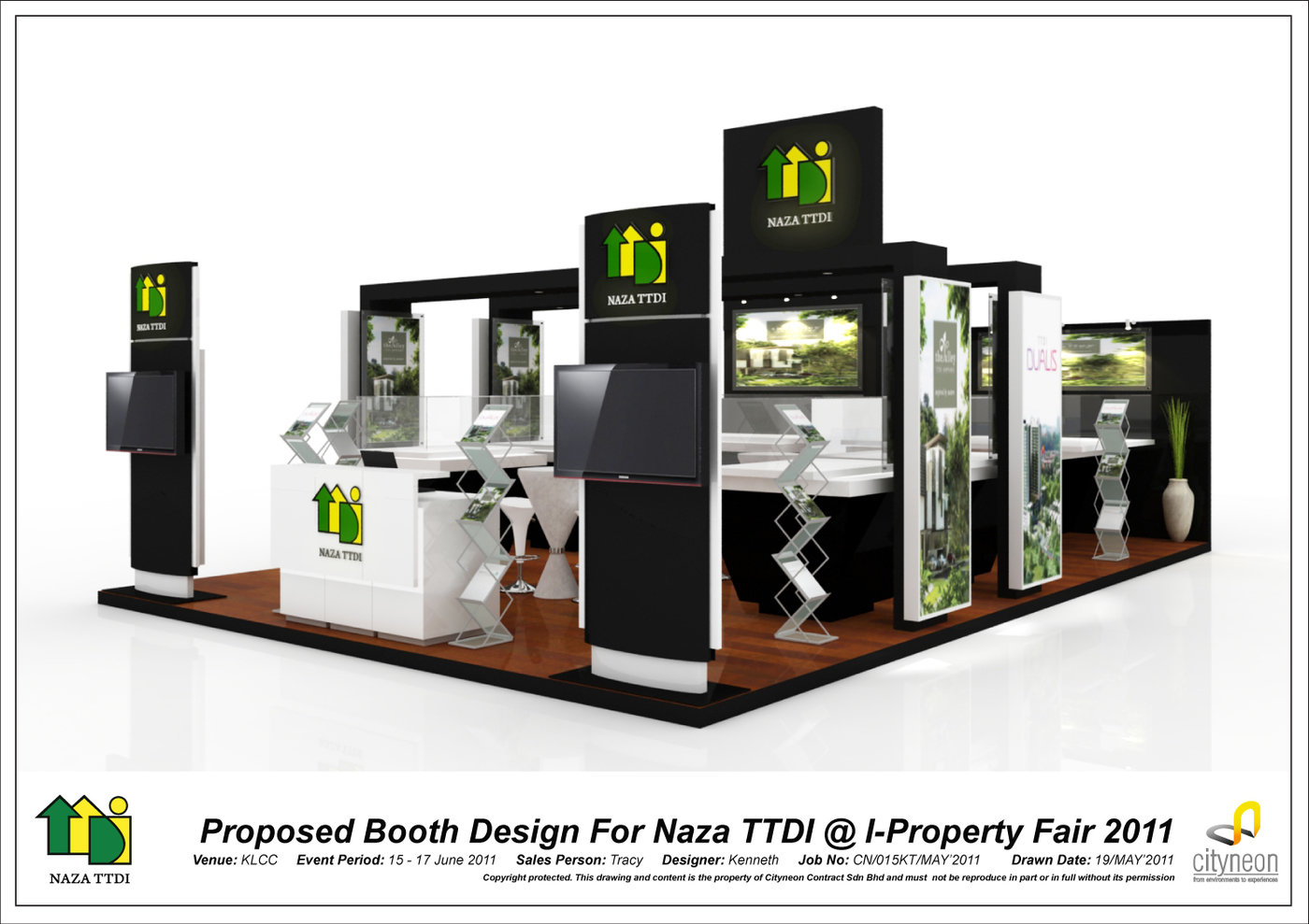 Property Exhibition Booth : Exhibition design by kenneth tan at coroflot