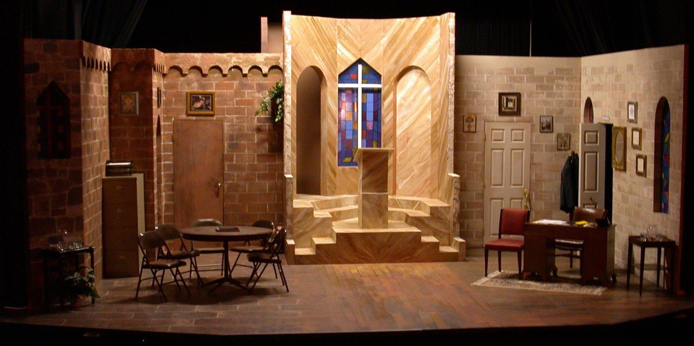 Set design by patrice andrew davidson at for Stages in house construction