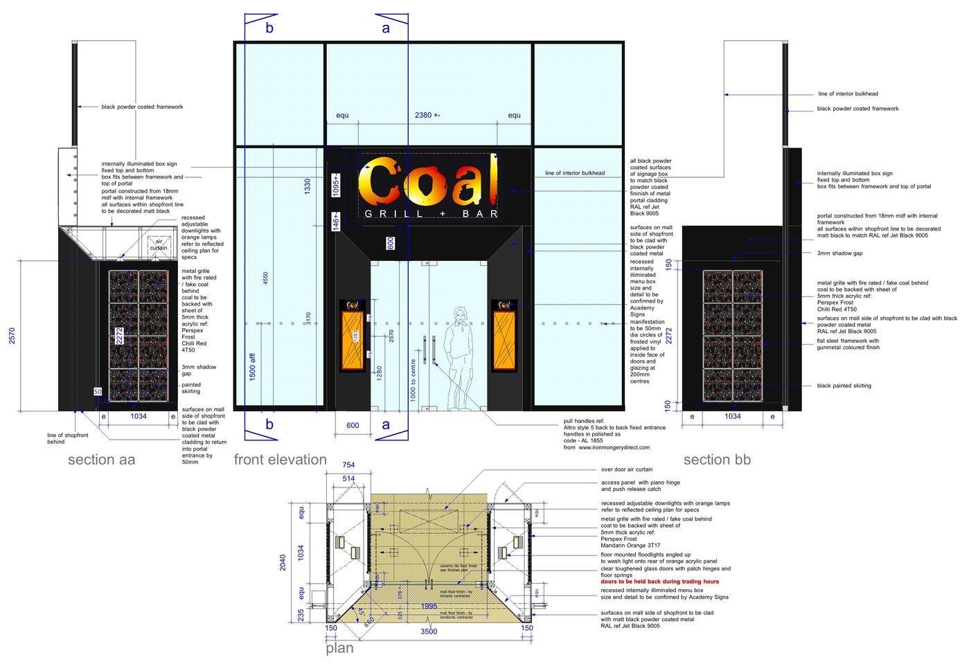 Coal Bar and Grill Cabot Circus