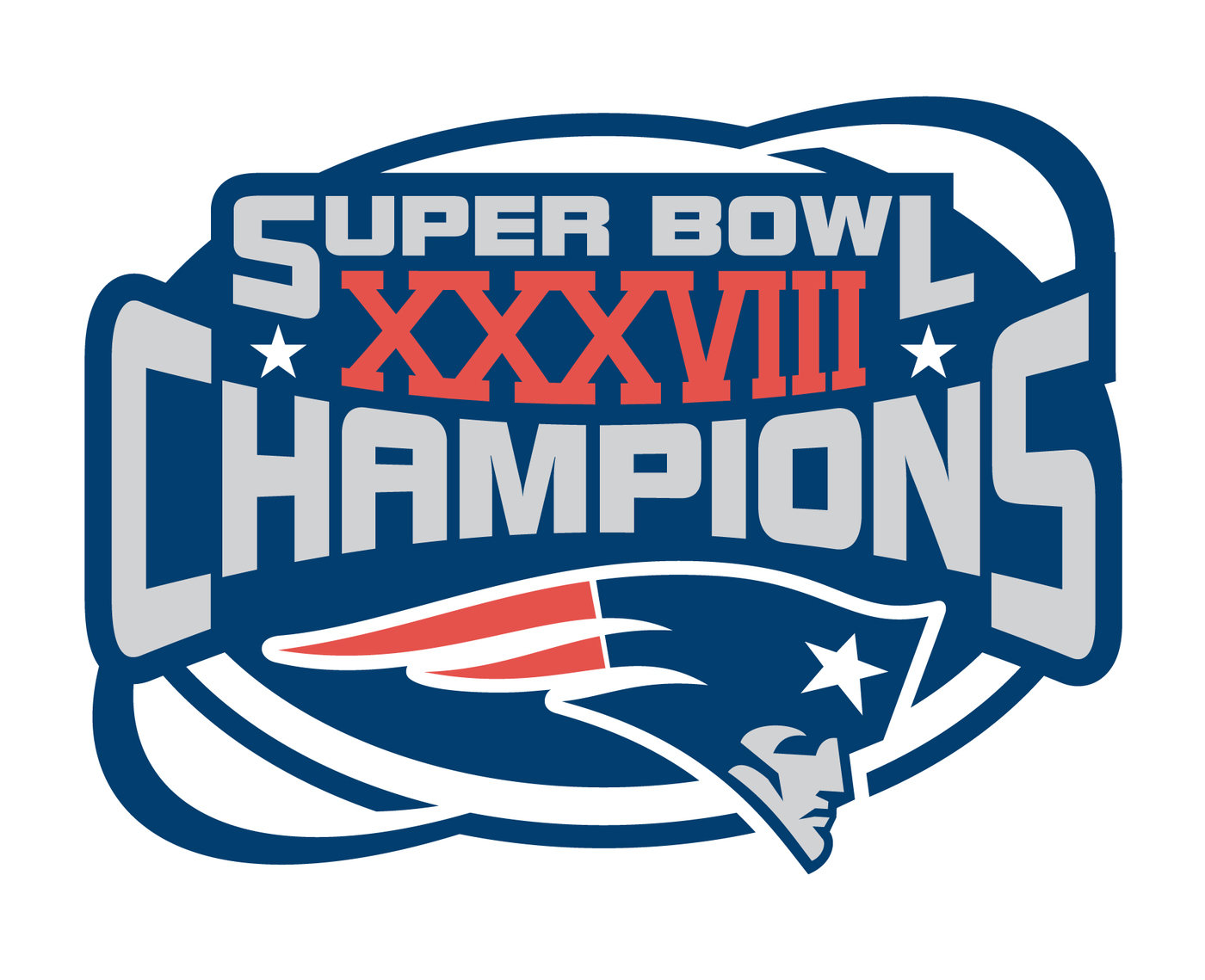 Patriot Super Bowl Logos - 12.000 vector logos