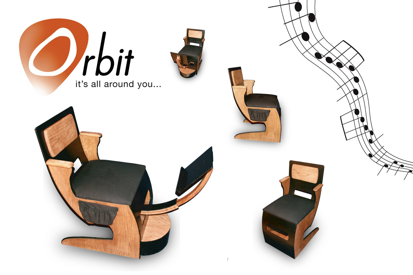 Guitar Chair by Robert Deutsch at Coroflotcom