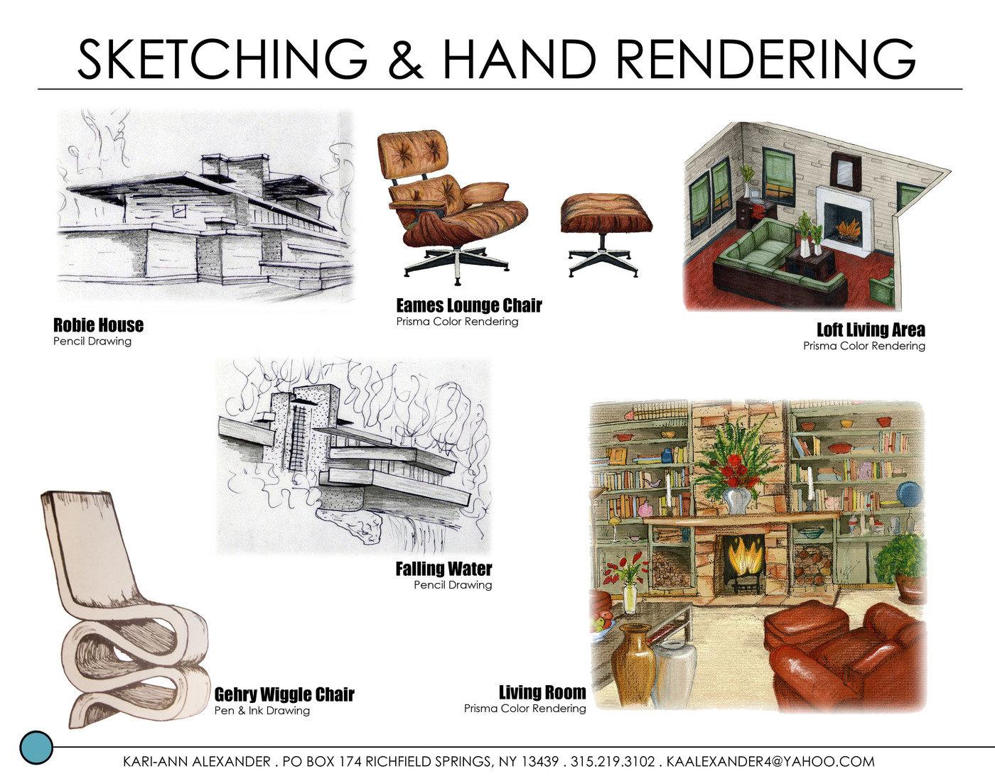 Interior design portfolio by kari ann alexander at - Interior design students for hire ...