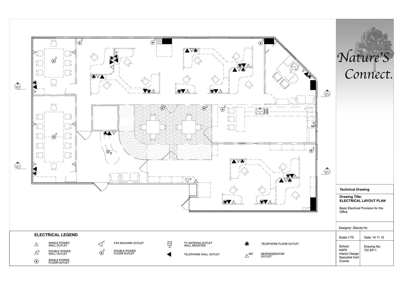 nature 39 s connect office design by glenda ho at. Black Bedroom Furniture Sets. Home Design Ideas