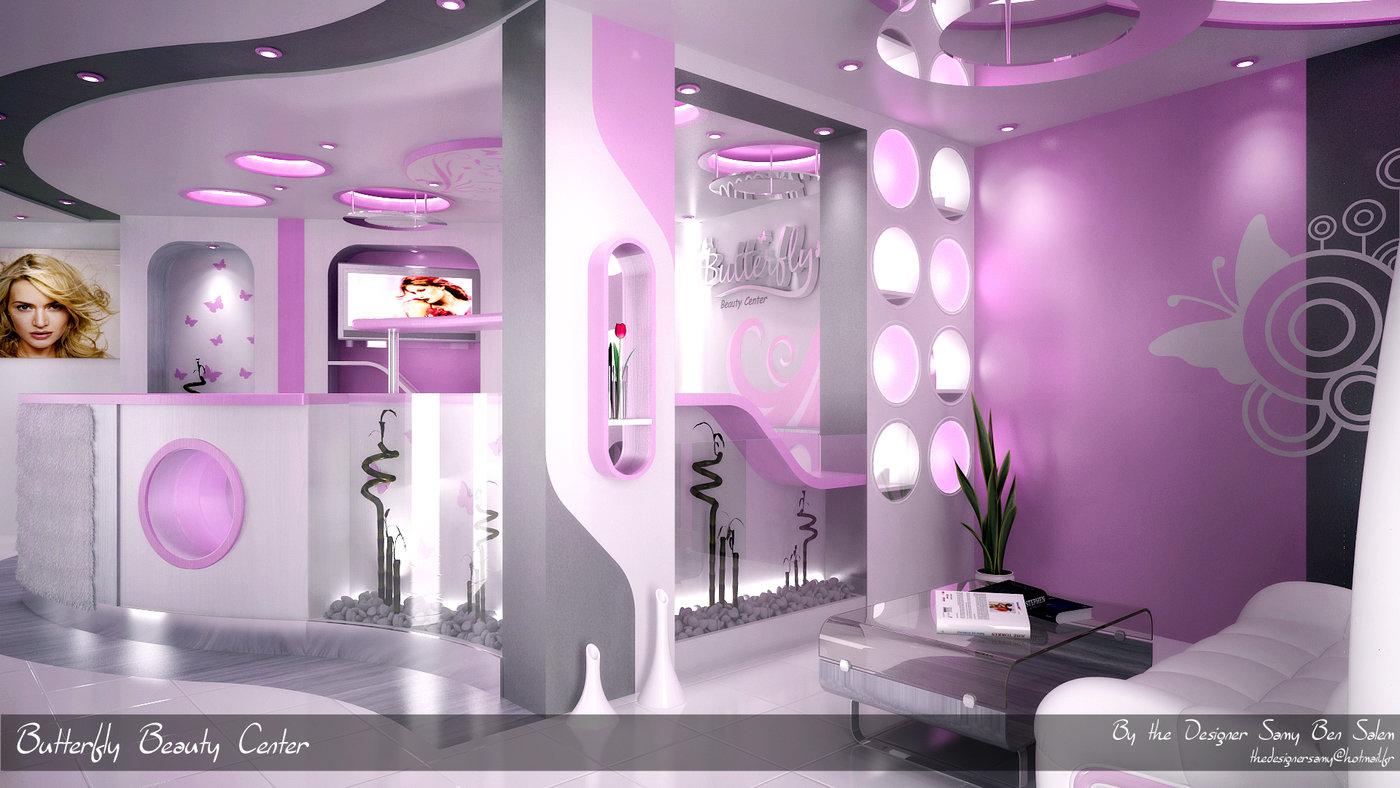 Butterfly beauty center by samy ben salem at for Beauty project ideas