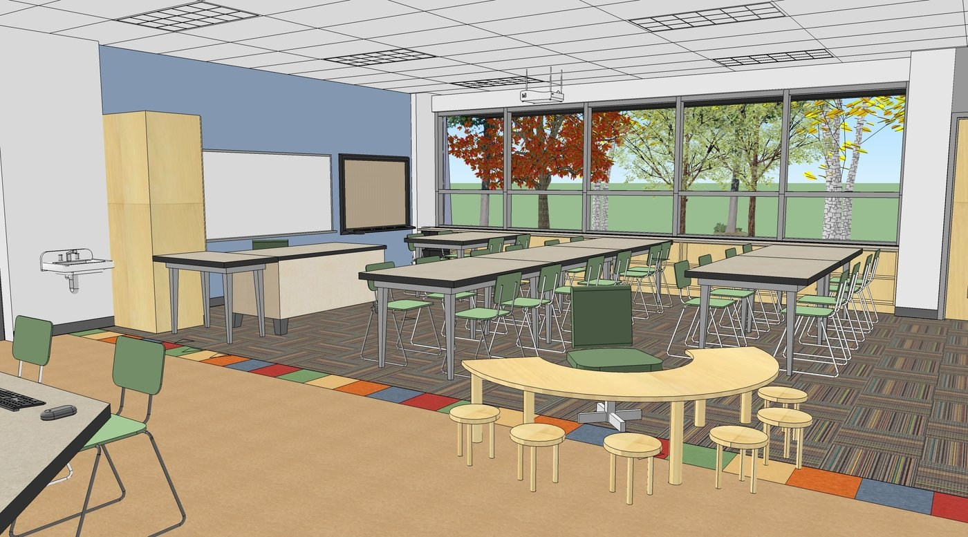 Deped Standard Classroom Design ~ Educational design by susan conklin at coroflot
