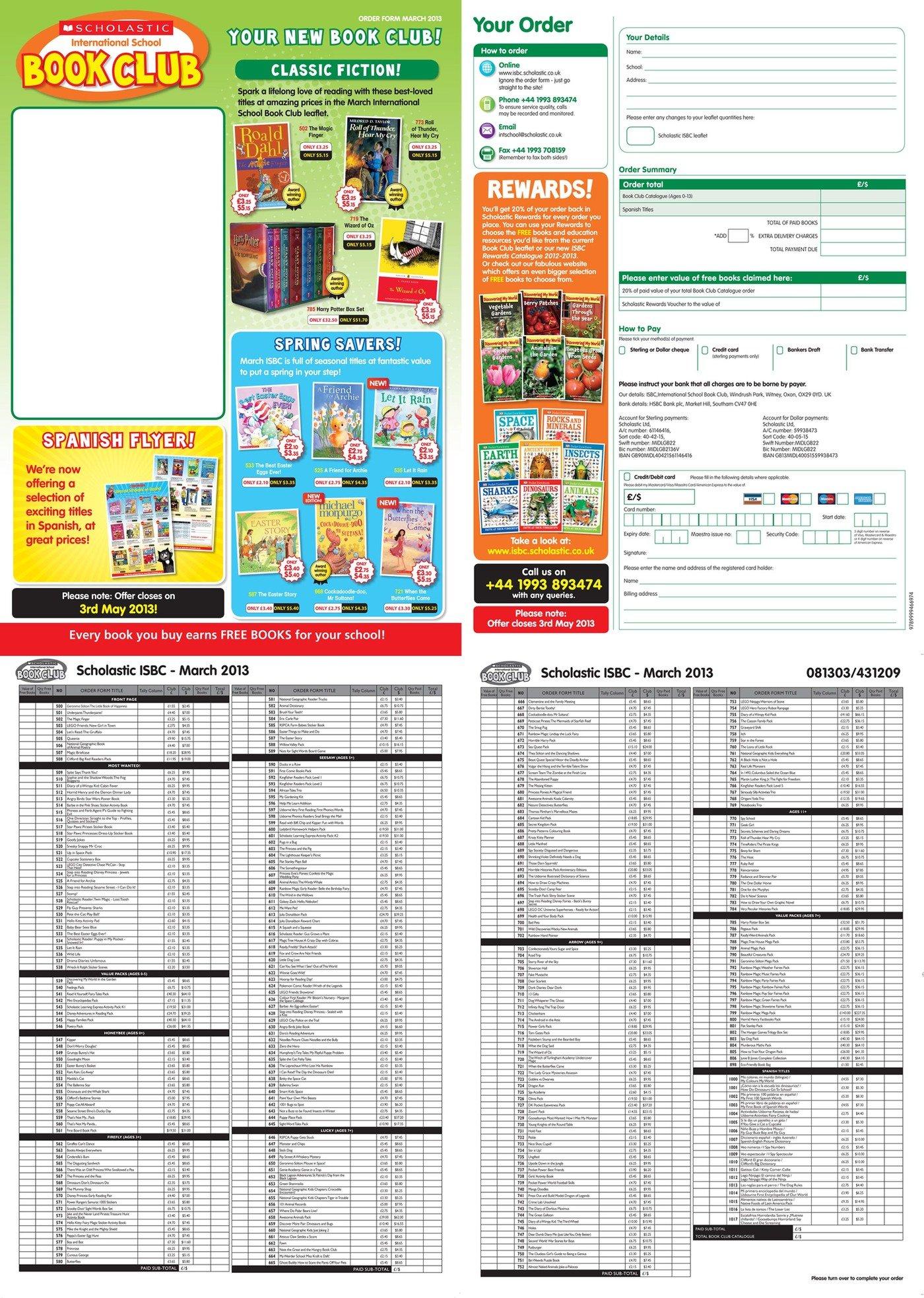 Scholastic Marketing Materials by Amy Hood at Coroflot.com