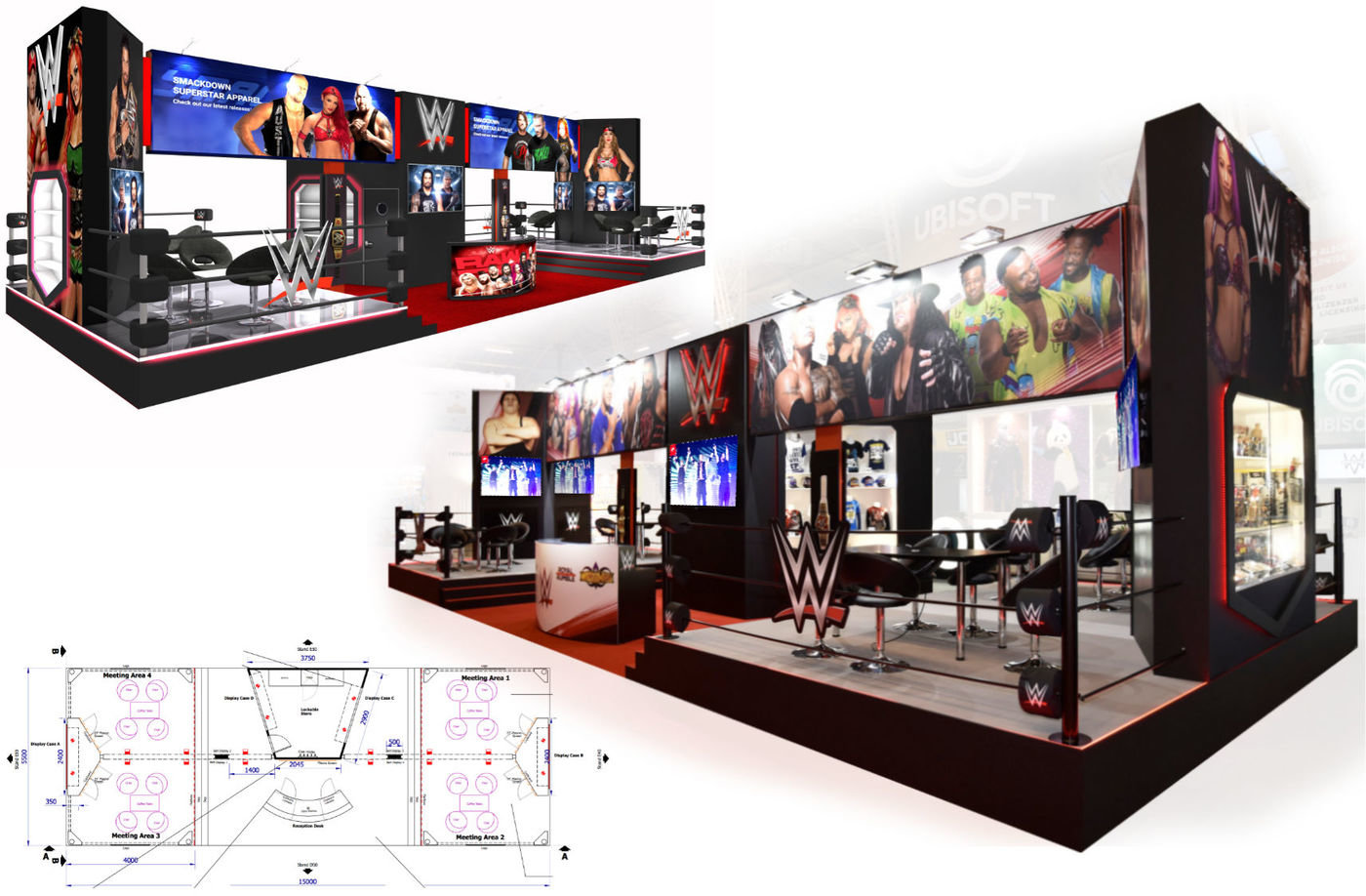 Exhibition Stand Installation : Exhibitions medium by a d m at coroflot