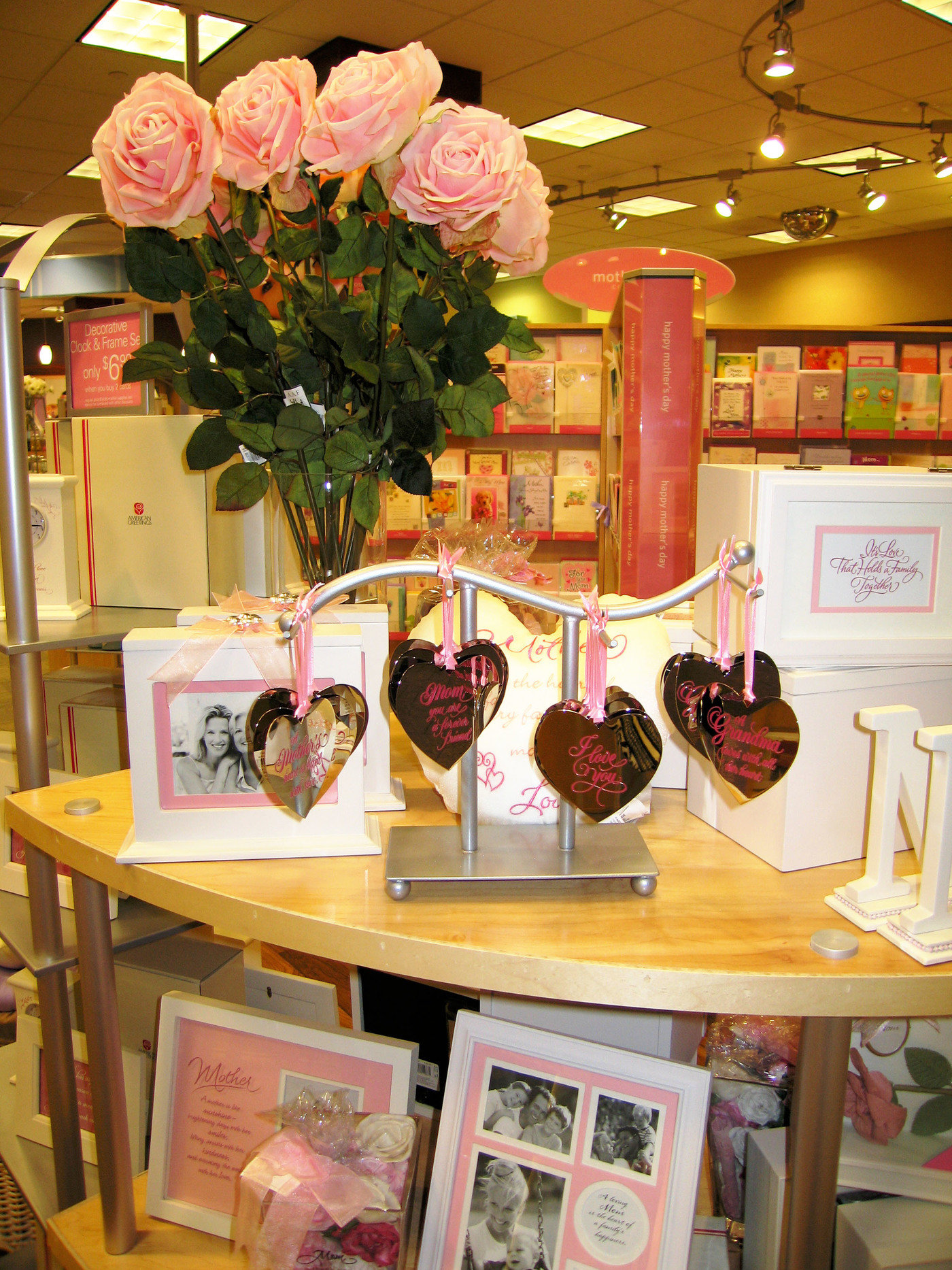 American greetings seasons celebration concept by elizabeth olson small ornament displayer displayer has greater attraction power than a more typical rack as product hangs freely fixture is integrated with gift product kristyandbryce Gallery
