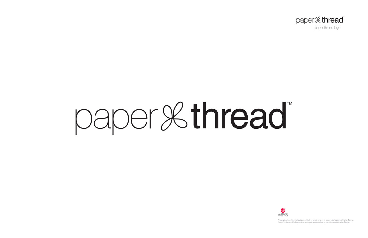 American greetings paper thread concept by elizabeth olson at paper thread logo paper thread brand supports the nurturing of womens relationships through the four es enjoy enrich encourage and engage kristyandbryce Gallery