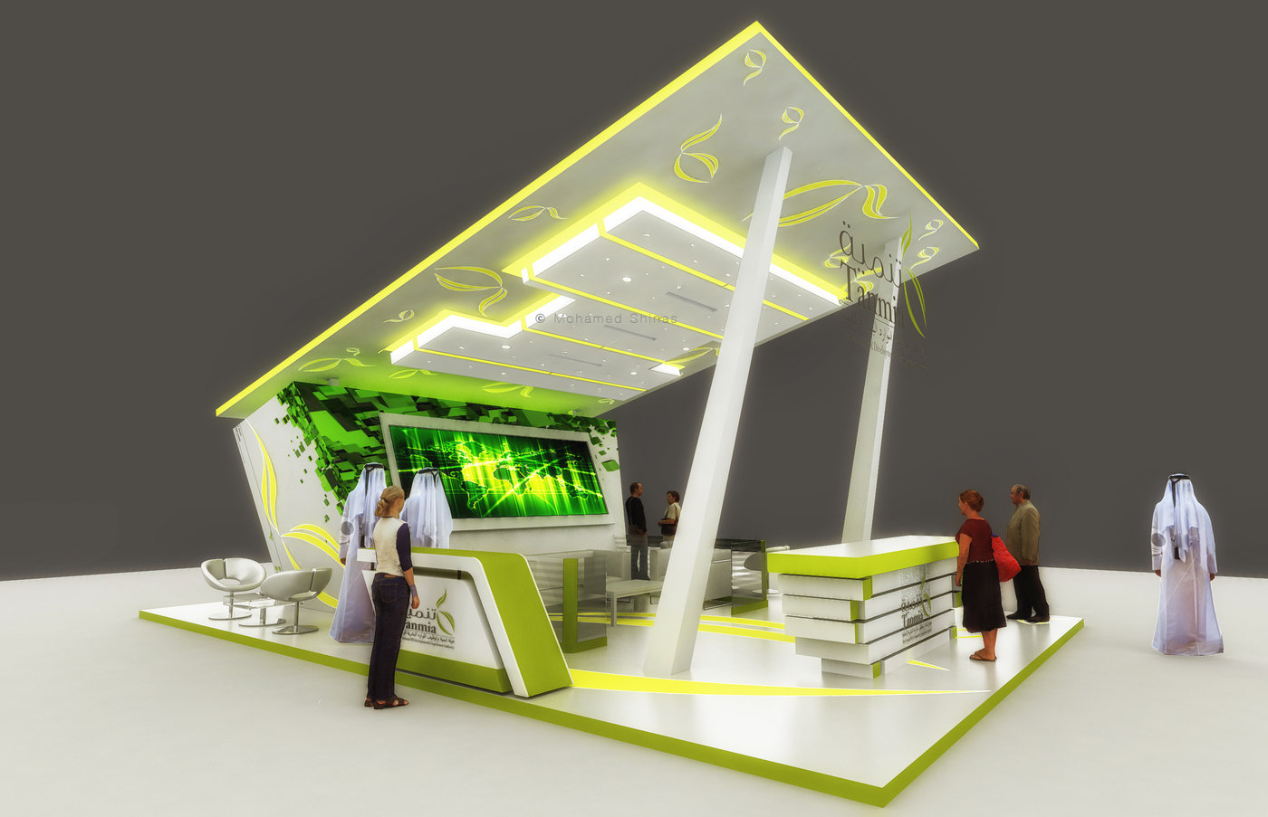N Stand Exhibition Design : Exhibition stand design by mohamed shinas at coroflot