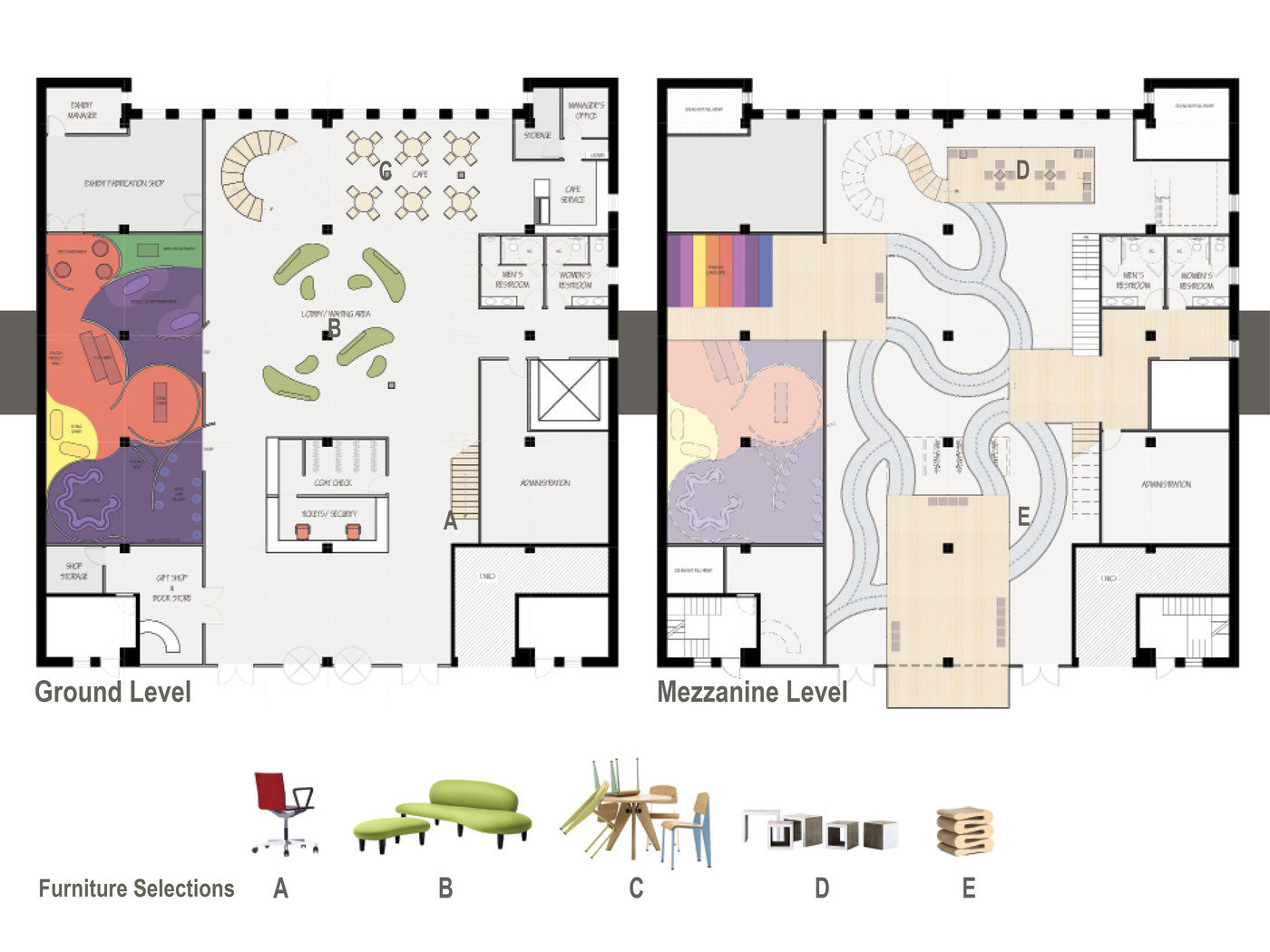 D Exhibition Floor Plan : Vitra design museum free play by amanda meininger at