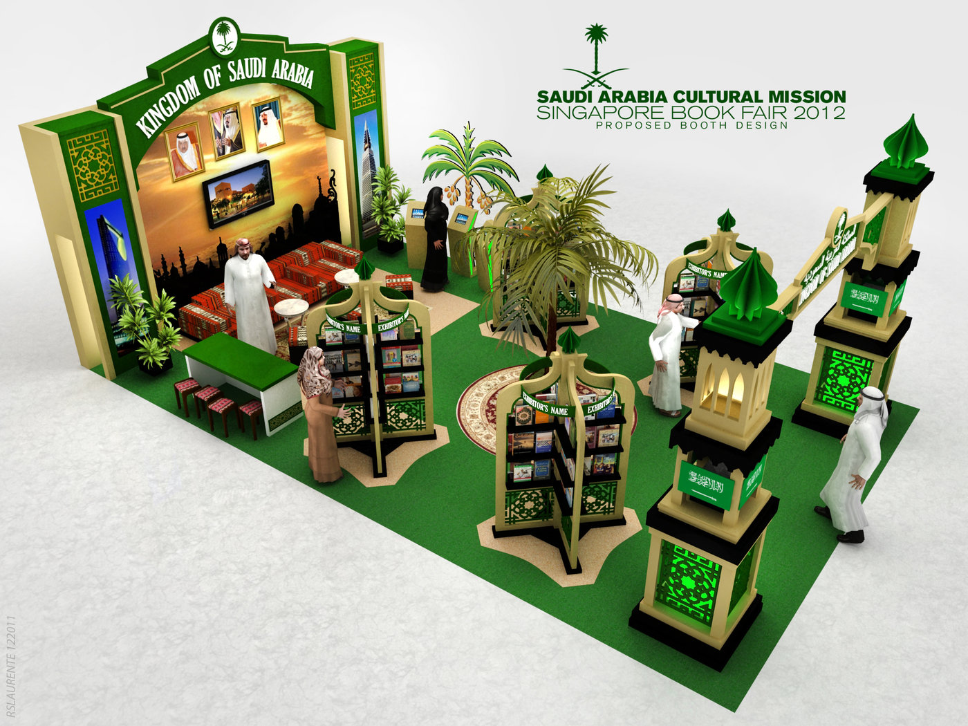 Pro Expo Communication Stands Amp Events : Exhibition design d by rommel laurente at coroflot